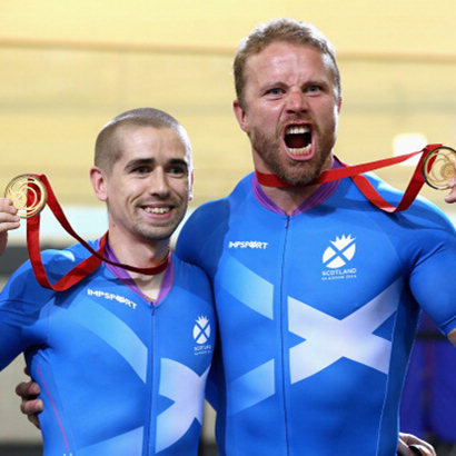 Neil Fachie & Craig Maclean Glasgow Commonwealth Games